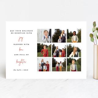 Three things Holiday Photo Cards