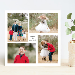 Love, Us Holiday Photo Cards