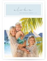 Aloha Paradise Holiday Photo Cards