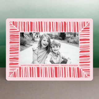 Peppermint Cheer Holiday Photo Cards