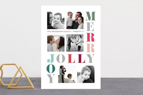 Merry Jolly Joy Holiday Photo Cards