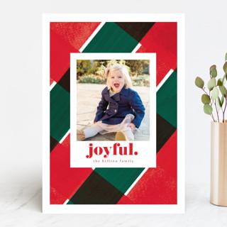 holiday check Holiday Photo Cards