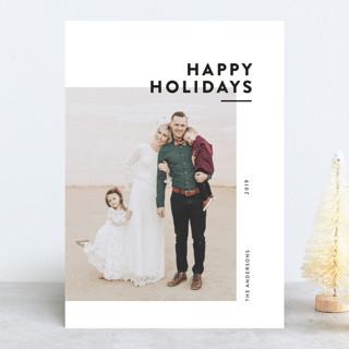 Editorial Holiday Holiday Photo Cards