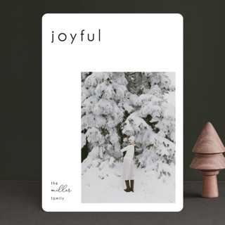 Mast Holiday Photo Cards