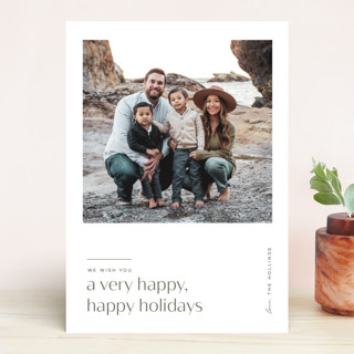 Very Very Merry Holiday Photo Cards