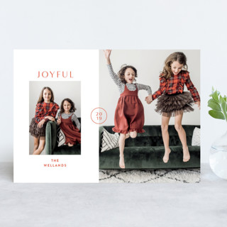 In Vogue Holiday Photo Cards