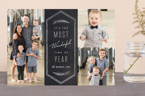 Wonderful Time of Year Holiday Photo Cards