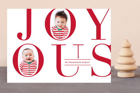 Joy OUS Holiday Photo Cards