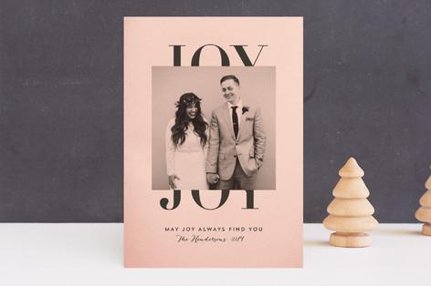 Classic Joy Holiday Photo Cards