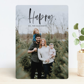 Merry Painted Holiday Photo Cards