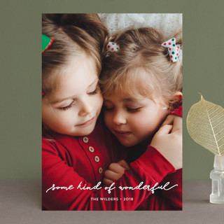 some kind of wonderful Holiday Photo Cards