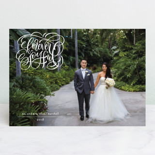 forever merry Holiday Photo Cards