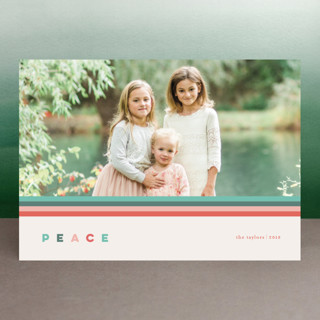 Merry Stripes Holiday Photo Cards