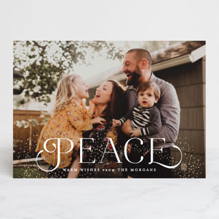 Sparkle and Rejoice Holiday Photo Cards