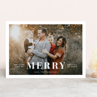 Full of Cheer Holiday Photo Cards