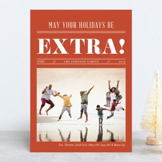Extra Extra Holiday Photo Cards
