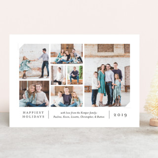 Picture Book Holiday Photo Cards