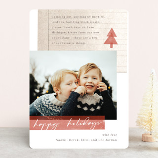 A Few Favorites Holiday Photo Cards