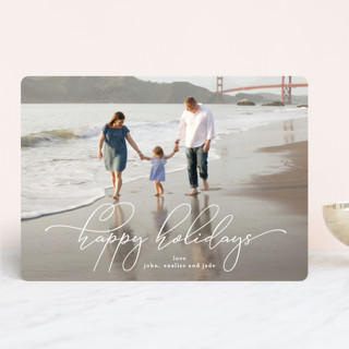 hold my hand Holiday Photo Cards