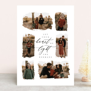 Be Light Holiday Photo Cards