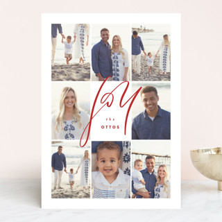 Grid Holiday Photo Cards