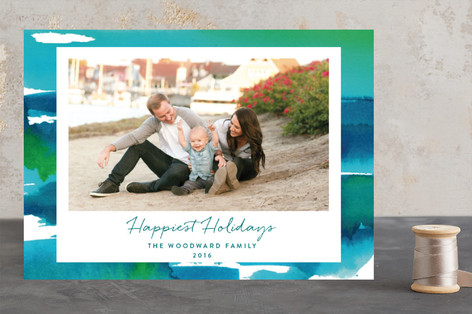 Washed to Shore Holiday Photo Cards