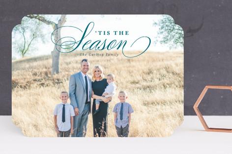 Elegant Christmas Holiday Photo Cards