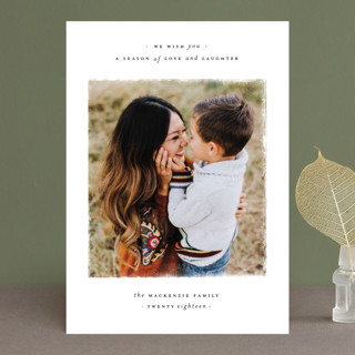 Love + Laughter Holiday Photo Cards