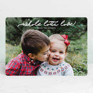whole lotta love Holiday Photo Cards