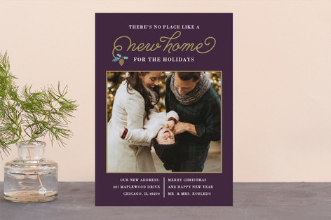 New Christmas Home Holiday Photo Cards