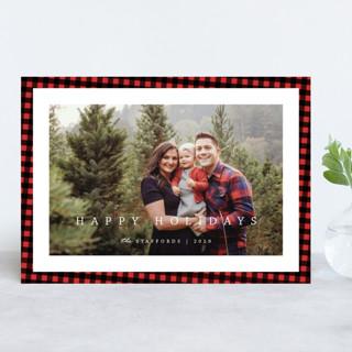 Buffalo Holiday Holiday Photo Cards