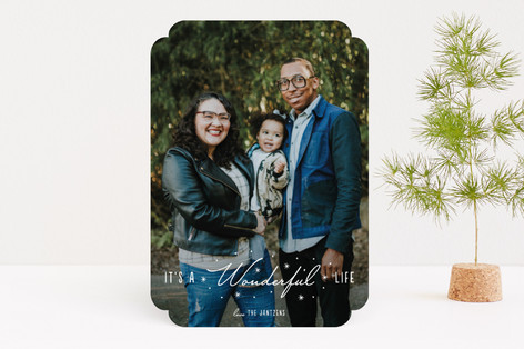 Delicate Wonder Holiday Photo Cards