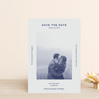 Flyer Save the Date Petite Cards
