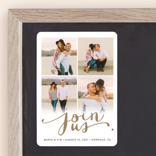 Jotted Save The Date Magnets