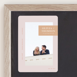 Refreshed Save The Date Magnets