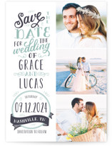 Serendipitous Save The Date Postcards