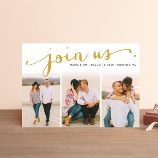 Jotted Save The Date Postcards