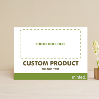 FOIL Portrait Custom Save The Date Postcards