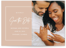 Eloquent Save The Date Postcards