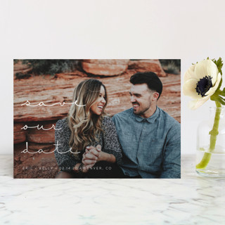 Simply in Love Save The Date Postcards
