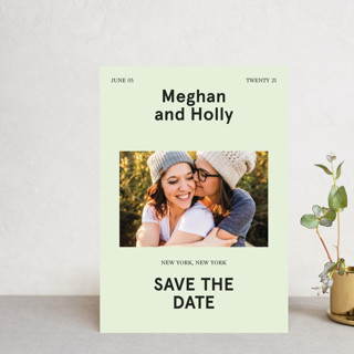 Booklet Save The Date Postcards