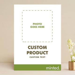 FOIL Portrait Custom Save The Date Cards