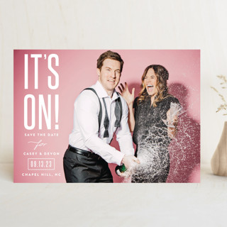 it's on! Save The Date Cards