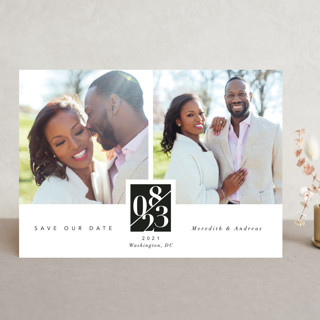 classic love story Save The Date Cards