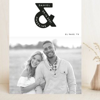 Ampersand us Grand Save The Date Cards