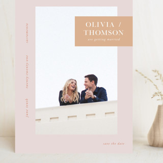 Refreshed Grand Save The Date Cards