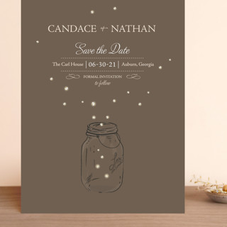 Fireflies Grand Save The Date Cards