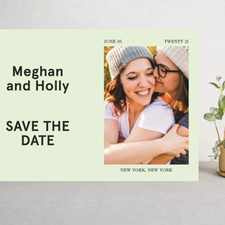 Booklet Grand Save The Date Cards
