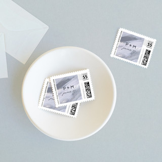 Shimmering Statement Wedding Stamps