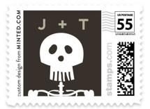 Until Death Wedding Stamps